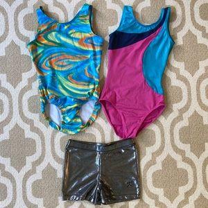 ✴️4/$15 Girls medium dance/gymnastics bundle